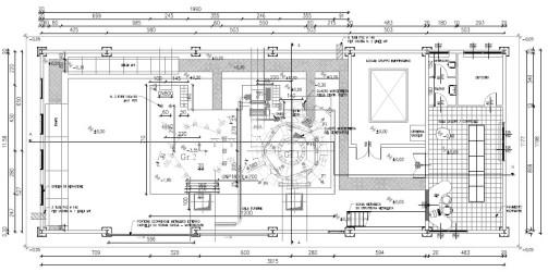 centrale: progetto esecutivo piano terra