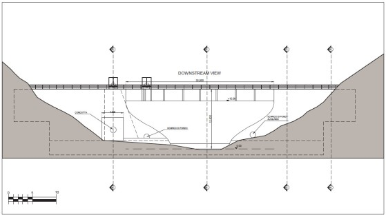 dam downstream view