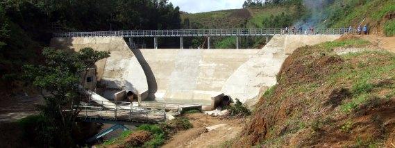 Sbarramento sul fiume Lukosi