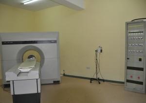 Il Tomografo Assiale Computerizzato della ditta Elscint modello EXEL 2000 Sprint