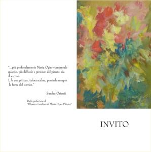 Maria Ogier invito a