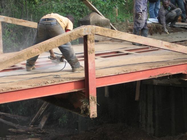 ponte di Ilutila dicembre 2015